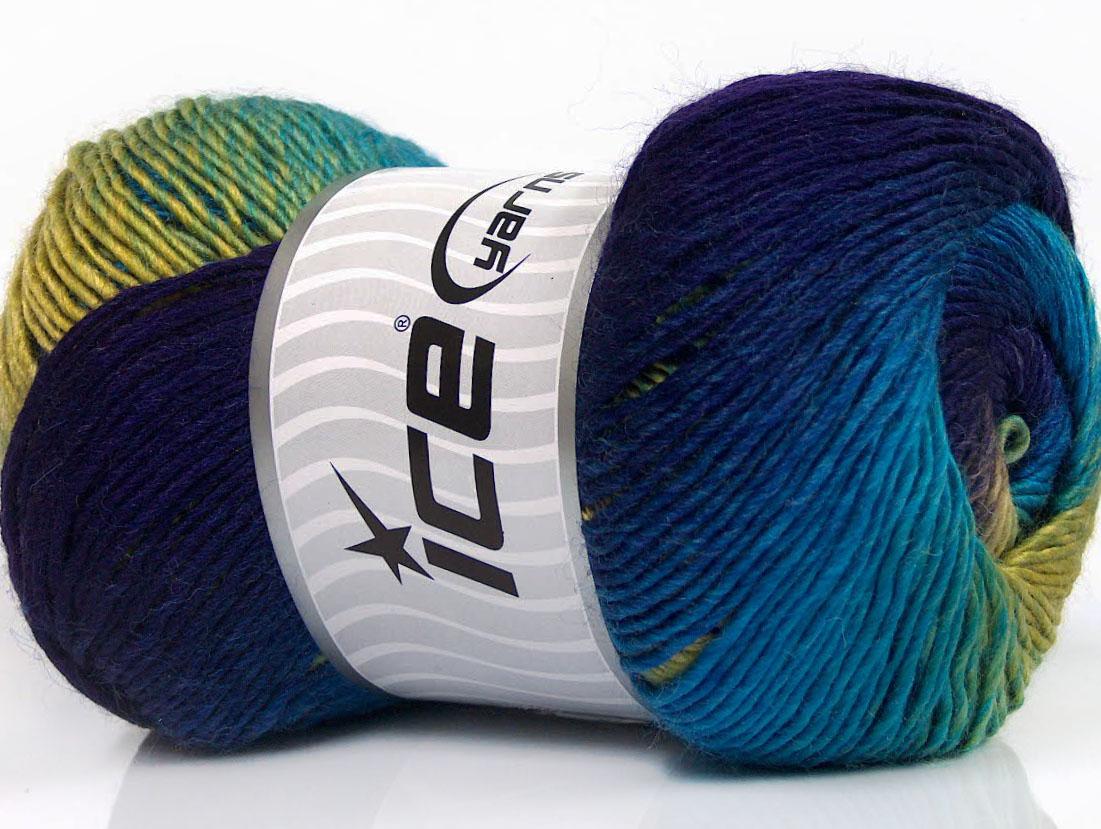 98fcb9e7f1d0 Primadonna Turquoise Purple Green Shades, Laine mohair - Angora ...