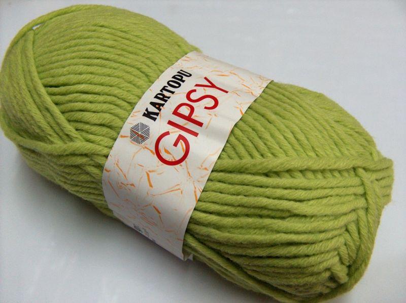 70b869d83bbc Gipsy Green, Laine mohair - Angora   Les petites pelotes de Rosalie