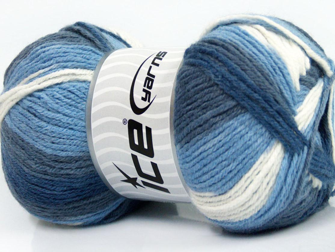 f5c3ddb4a36d Design Wool Light Blanc Nuances de bleus, Laine mohair - Angora ...